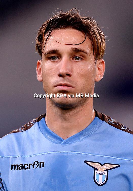 Italian League Serie A -2016-2017 / <br /> ( SS Lazio ) - <br /> Lucas Rodrigo Biglia &quot; Lucas Biglia &quot;