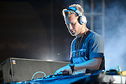 Chicago-based EDM producer Steve Smooth performing at the first annual Pulse Festival in St. Louis on June 9, 2012.