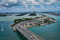 Watson Island & MacArthur Causeway, Port of Miami
