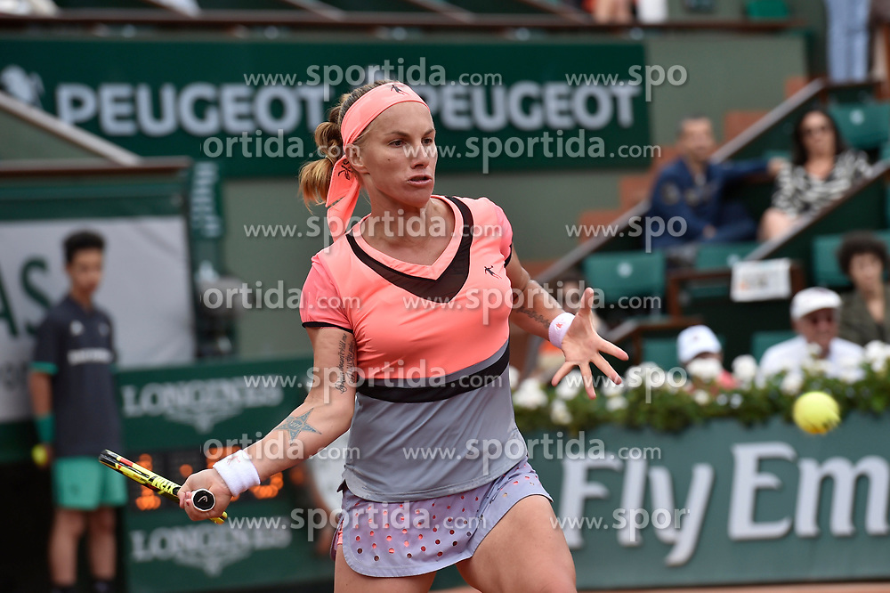 04.06.2017, Roland Garros, Paris, FRA, WTA Tour, French Open, im Bild Svetlana Kuznetsova (RUS) // Svetlana Kuznetsova (RUS) during the French Open Tournament of the WTA Tour at the Roland Garros in Paris, France on 2017/06/04. EXPA Pictures © 2017, PhotoCredit: EXPA/ Vianney Thibaut