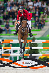 Torben Frandsen, (DEN), Solos Consept - Team & Individual Competition Jumping Speed - Alltech FEI World Equestrian Games™ 2014 - Normandy, France.<br /> © Hippo Foto Team - Leanjo De Koster<br /> 02-09-14