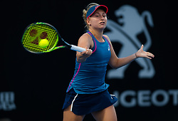 January 7, 2019 - Sidney, AUSTRALIA - Daria Gavrilova of Australia in action during the first round of the 2019 Sydney International WTA Premier tennis tournament (Credit Image: © AFP7 via ZUMA Wire)