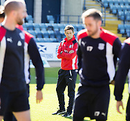 Interim Dundee FC manager Neil McCann - Dundee FC itraining at Dens Park, Dundee, Photo: David Young<br /> <br />  - &copy; David Young - www.davidyoungphoto.co.uk - email: davidyoungphoto@gmail.com