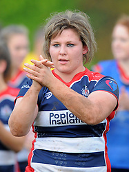 Bristol Ladies after defeating Saracens Women - Mandatory by-line: Paul Knight/JMP - 30/10/2016 - RUGBY - Cleve RFC - Bristol, England - Bristol Ladies v Saracens Women - RFU Women's Premiership
