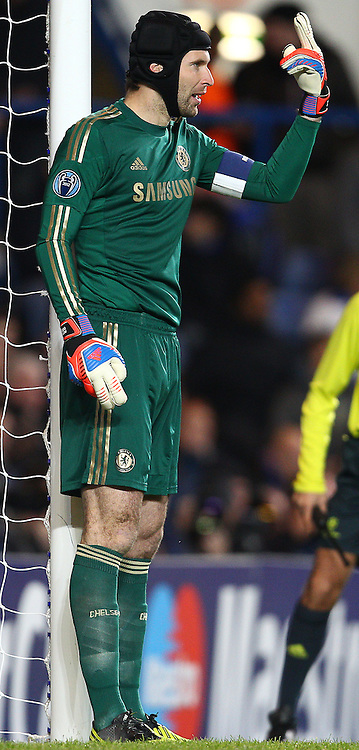 Picture by Paul Terry/Focus Images Ltd +44 7545 642257.07/11/2012.Petr Cech of Chelsea during the UEFA Champions League match at Stamford Bridge, London.