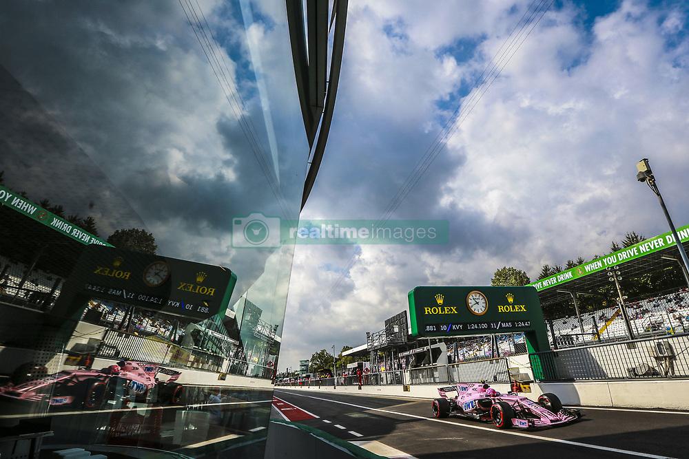 September 1, 2017 - Monza, Italy - Motorsports: FIA Formula One World Championship 2017, Grand Prix of Italy, ..#31 Esteban Ocon (FRA, Sahara Force India F1 Team) (Credit Image: © Hoch Zwei via ZUMA Wire)
