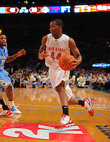 Ohio State guard William Buford #44 against the North Carolina Tarheels during the 2K Sports Classic at Madison Square Garden. (Mandatory Credit: Delane B. Rouse/Delane Rouse Photography)