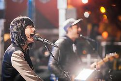 Phantogram performs at The Treasure Island Music Festival - San Francisco, CA - 10/19/13