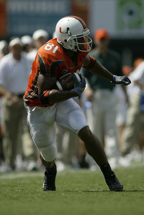2010 Miami Hurricanes Pro Bowl Photo