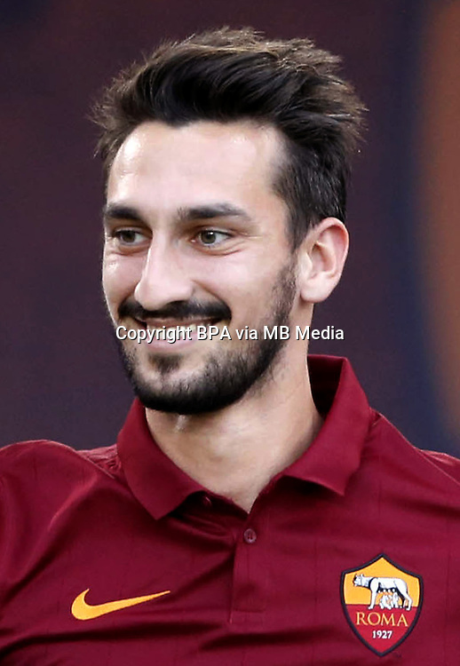 Italian League Serie A -2014-2015 / <br /> ( As Roma ) - <br /> Davide Astori