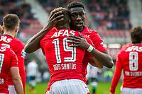 ALKMAAR - 19-03-2017, AZ - ADO Den Haag, AFAS Stadion, AZ speler Dabney dos Santos Souza, a23\