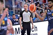 Lorenzo Baldini arbitro<br /> Dolomiti Energia Aquila Basket Trento - Consultinvest Victoria Libertas Pesaro<br /> Lega Basket Serie A 2016/2017<br /> Trento, 26/03/2017<br /> Foto M. Ceretti / Ciamillo - Castoria