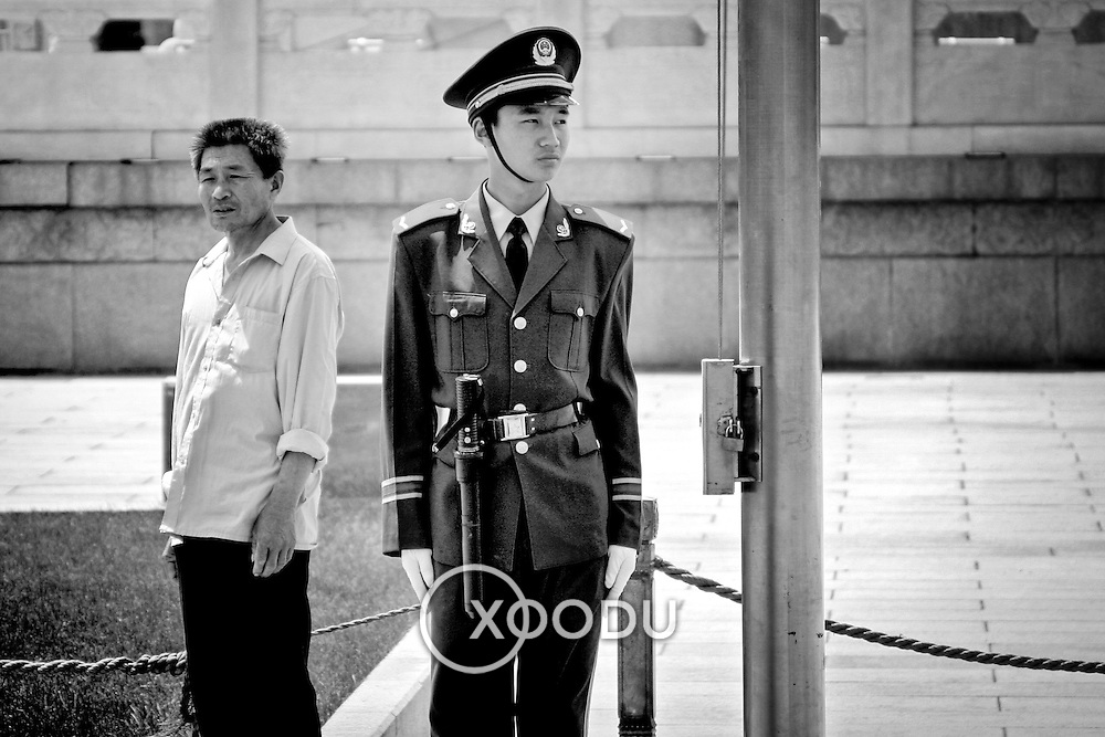 Young guard, Beijing, China (May 2004)