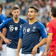 PARIS, FRANCE - September 10:  Wissam Ben Yedder #10 of France during the France V Andorra, UEFA European Championship 2020 Qualifying match at Stade de France on September 10th 2019 in Paris, France (Photo by Tim Clayton/Corbis via Getty Images)