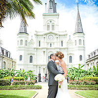 Jeff & Lisa Wedding Album Jackson Square Ceremony Destination Wedding 2015 1216 Studio New Orleans Wedding Photography