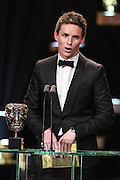 Category: Supporting Actress<br /> Citation reader(s): Eddie Redmayne<br /> Winner:<br /> L-r: