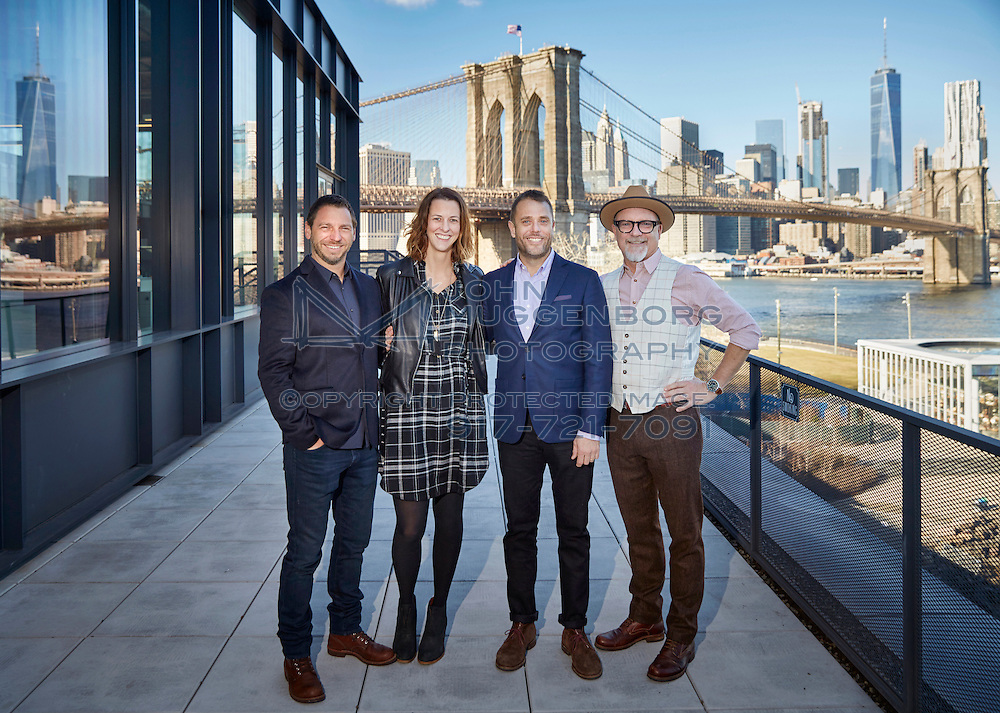 The 72 and Sunny advertising agency office  in Dumbo,Brooklyn NYC. Photographed by John Muggenborg.