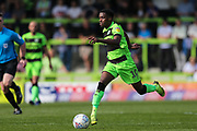 Forest Green Rovers Reece Brown(10) runs forward during the EFL Sky Bet League 2 match between Forest Green Rovers and Cambridge United at the New Lawn, Forest Green, United Kingdom on 22 April 2019.