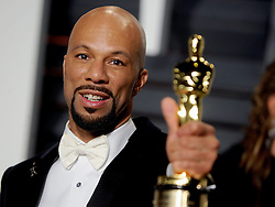 Common in attendance for 2015 Vanity Fair Oscar Party Hosted By Graydon Carter at Wallis Annenberg Center for the Performing Arts on February 22, 2015 in Beverly Hills, California. EXPA Pictures © 2015, PhotoCredit: EXPA/ Photoshot/ Dennis Van Tine<br /> <br /> *****ATTENTION - for AUT, SLO, CRO, SRB, BIH, MAZ only*****