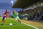 Forest Green Rovers Elliott Frear(11) runs forward during the Vanarama National League match between Forest Green Rovers and Aldershot Town at the New Lawn, Forest Green, United Kingdom on 5 November 2016. Photo by Shane Healey.