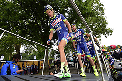 July 13, 2017 - Pau, France - Peyragudes, France - July 13 : DEGAND Thomas of Wanty - Groupe Gobert during stage 12 of the 104th edition of the 2017 Tour de France cycling race, a stage of 214.5 kms between Pau and Peyragudes on July 13, 2017 in Peyragudes, France, 13/07/2017 (Credit Image: © Panoramic via ZUMA Press)