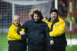 January 26, 2019 - Rotherham, England, United Kingdom - A Leeds fan is ejected from the stadium during the Sky Bet Championship match between Rotherham United and Leeds United at the New York Stadium, Rotherham on Saturday 26th January 2019. (Credit Image: © Mark Fletcher/NurPhoto via ZUMA Press)