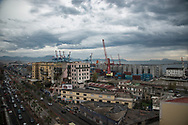 Cantieri navali e porto, Napoli;<br />