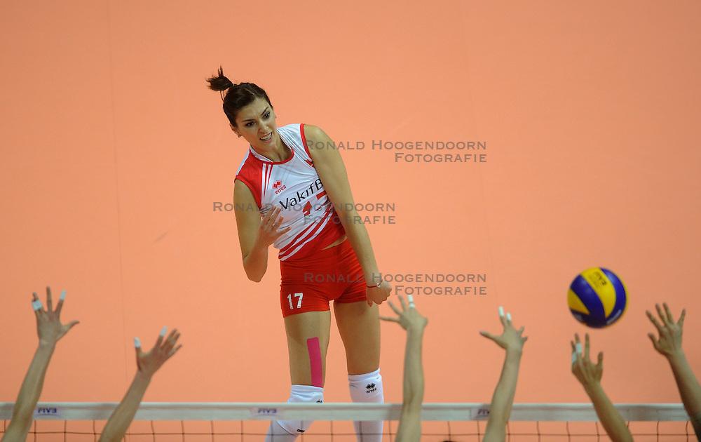 30-06-2012 VOLLEYBAL: WGP FINAL CHINA - TURKIJE: NINGBO <br />Neslihan Darnel<br />&copy;2012-FotoHoogendoorn.nl