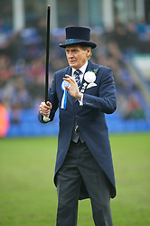 PETERBOROUGH, ENGLAND - Saturday, February 19, 2011: Mr Posh the Football League One match at London Road between Peterborough United and Tranmere Rovers. (Photo by Gareth Davies/Propaganda)