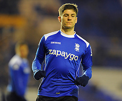 Rob Kiernan is set for his Birmingham debut against Middlesbrough following his loan move from Wigan. - Photo mandatory by-line: Dougie Allward/JMP - Mobile: 07966 386802 - 18/02/2015 - SPORT - Football - Birmingham - ST Andrews Stadium - Birmingham City v Middlesbrough - Sky Bet Championship