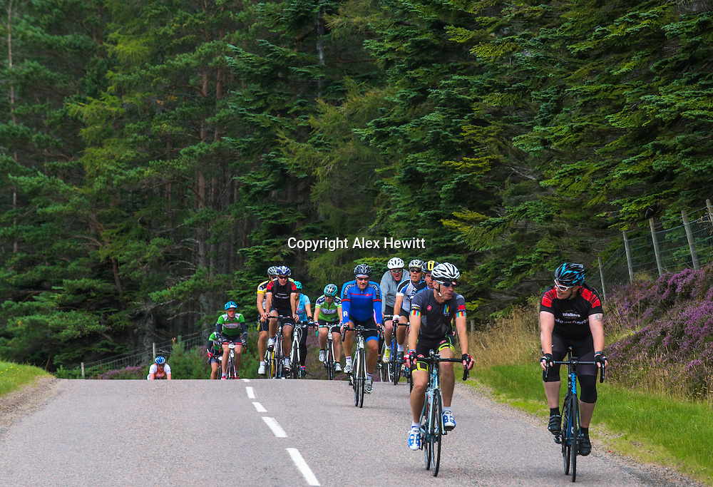 Ride the North 2016<br /> <br /> Day 1 - Saturday. Rhynie to Culloden Academy