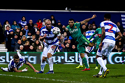 Troy Deeney of Watford shoots at goal - Mandatory by-line: Robbie Stephenson/JMP - 15/02/2019 - FOOTBALL - Loftus Road - London, England - Queens Park Rangers v Watford - Emirates FA Cup fifth round proper