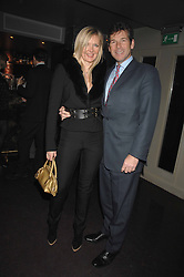Fashion designer AMANDA WAKELEY and HUGH MORRISON at a party hosted by Kitts nightclub in honour of Ed Godrich to than him for his work on designing the club in Sloane Square, London on 1st March 2007.<br />