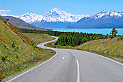 highway to Mount Cook NZ