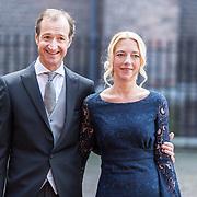 NLD/Den Haag/20170919 - Prinsjesdag 2017, Eric Wiebes en partner
