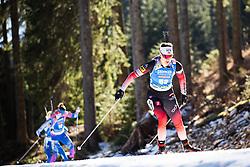 Synnoeve Solemdal (NOR) during the Women 15 km Individual Competition at day 2 of IBU Biathlon World Cup 2019/20 Pokljuka, on January 23, 2020 in Rudno polje, Pokljuka, Pokljuka, Slovenia. Photo by Peter Podobnik / Sportida