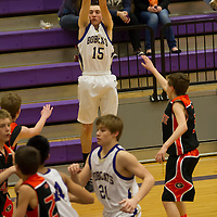 1-28-14 Berryville Jr. High Boys Basketball vs Gravette