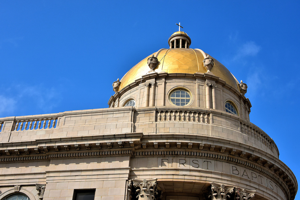 Golden Dome First Baptist Church in Tampa, Florida<br />