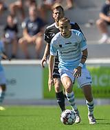 Lucas Haren (FC Helsingør) under kampen i 2. Division mellem FC Helsingør og Vanløse IF den 24. august 2019 på Helsingør Ny Stadion (Foto: Claus Birch).