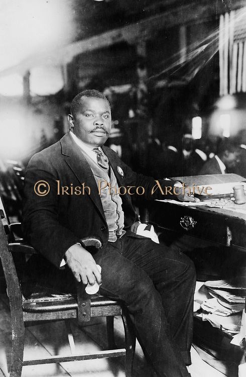 Rt. Excellent Marcus Mosiah Garvey, Jr., National Hero of Jamaica (1887 – 1940) Publisher, journalist, entrepreneur, Black Nationalist, Pan-Africanist, and orator.