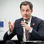 20160615 - Brussels , Belgium - 2016 June 15th - European Development Days - Digital technologies contribution to the Sustainable Development Goals - Alexander De Croo , Deputy Prime Minister , Minister of Development Cooperation , Digital Agenda , Telecom and Postal Services , Government of Belgium © European Union