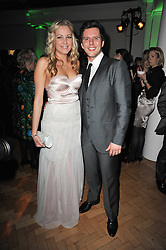 EMILY TIERNEY and JOHN ADDISON at the press night of the new Andrew Lloyd Webber  musical 'The Wizard of Oz' at The London Palladium, Argylle Street, London on 1st March 2011 followed by an aftershow party at One Marylebone, London NW1