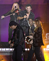 Bruce Springsteen, Steve Van Zandt, Patti Scialfa, Soozie Tyrell and Clarence Clemons- MTV Video Music Awards 2002 - American Museum of Natural History