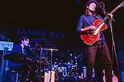 James Bay performs at the Showbox Market in Seattle, WA on Tuesday, October 21, 2014.