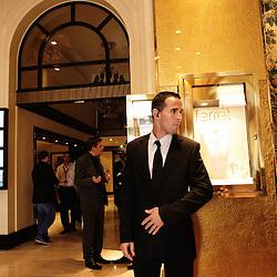 Dans les coulisses de l'hotel Majestic, 62e Festival de Cannes. France. 19 Mai 2009. Photo: Antoine Doyen