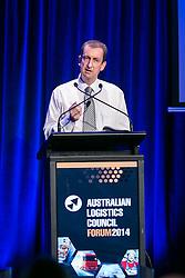 Mr Peter Wells, Director Safety & Compliance, RMS. Day 2. ALC Forum 2014. Australian Logistics Council. Royal Randwick Racecourse. Sydney. Photo: Pat Brunet/Event Photos Australia