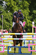 Thornton Jones ridden by Matthew Heath in the Equi-Trek CCI-4* Show Jumping during the Bramham International Horse Trials 2019 at Bramham Park, Bramham, United Kingdom on 9 June 2019.