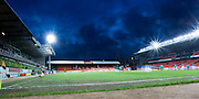 Night time view of Tannadice Park...© David Young - 5 Foundry Place - Monifieth - DD5 4BB - Telephone 07765 252616 - email: davidyoungphoto@gmail.com - web: www.davidyoungphoto.co.uk