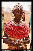Young Married Samburu Woman<br /> Samburu, Kenya<br /> September 2012