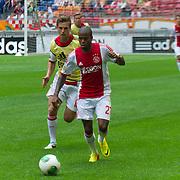 Amsterdam, 25-07-2013. Zo'n 20.000 fans waren naar de Amsterdam Arena gekomen voor de Open dag van Ajax. De spelers werden gepresenteerd  en trainden in de Arena. Foto: Ruben Ligeon.